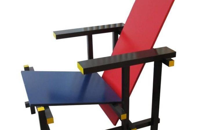 Red Blue Lounge Chair Gerrit Rietveld Cassina Stdibs