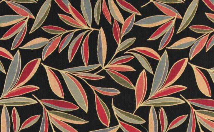 Red Blue Orange Foliage Leaves Contemporary