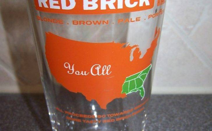 Red Brick Brewing Beer Around Here All Pint Glass