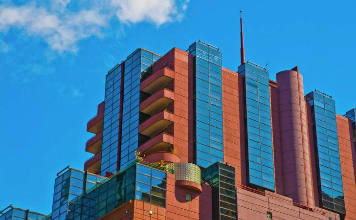 Red Brick Glass Apartment Tower Photograph Paul Donohoe