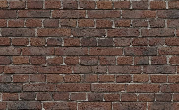 Red Brick Wall Glass Splashback Icon