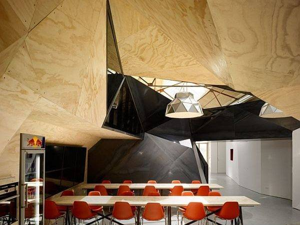 Red Bull Amsterdam Offices Sid Lee Architecture Office Design