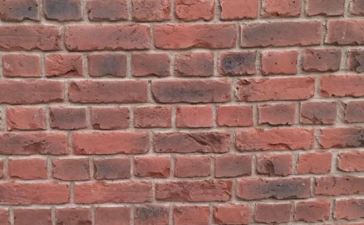 Red Faux Old English Brick Wall Panels Dreamwall