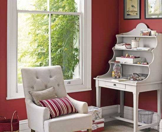 Red Home Office Offices Design Ideas Housetohome