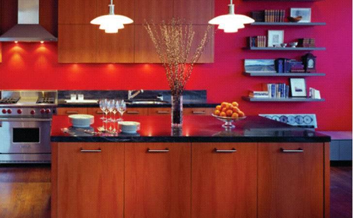 Red Kitchen Decorating Ideas Modern Interior Design