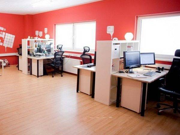 Red Office Design Ideas Oficina Pinterest