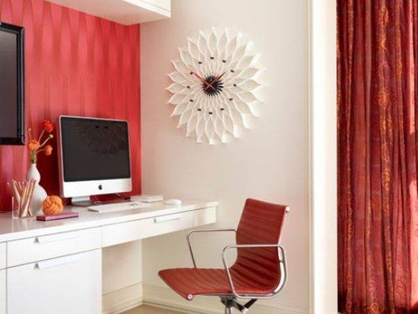 Red Office Design