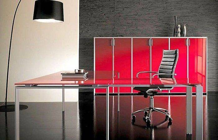 Red Offices Modern Office Interior Design Interiors