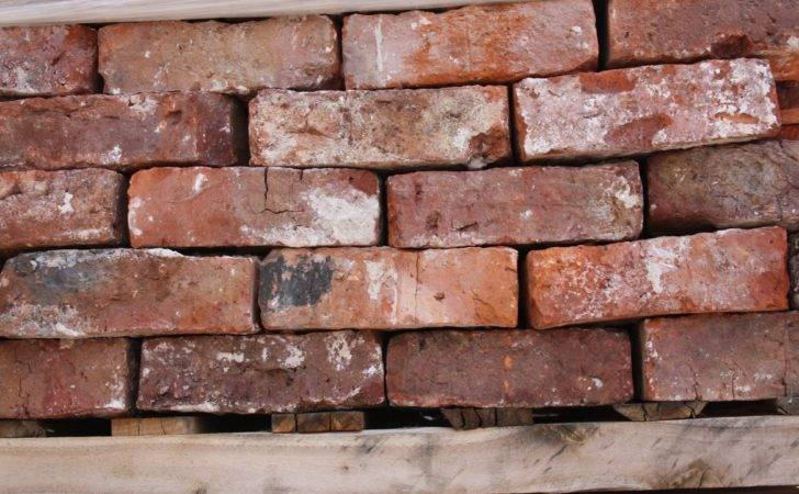 Red Orange Hand Made Reclaimed Bricks Rhyl Cawarden Reclaim