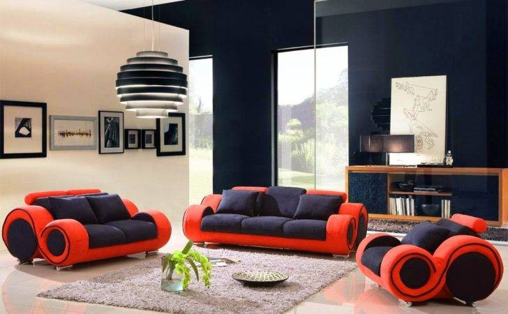 Red Ottoman Coffee Table Black Living Room Ideas