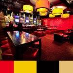 Red Pearl Restaurant Color Scheme