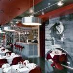 Red Restaurant Furniture Idea Iroonie