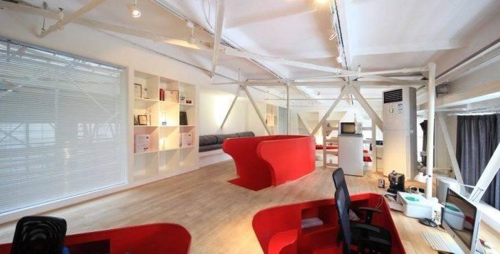 Red Town Office Design Taranta Creations Modern Architecture