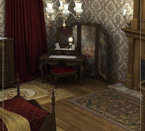Reflections Victorian Bedroom