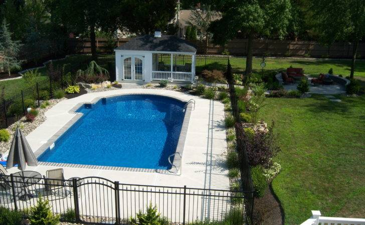 Refreshing Swimming Pool Landscape All House