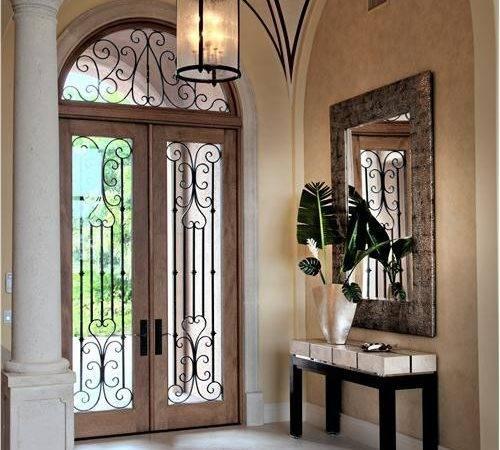 Regal Motif Grand Entrance Cool Door Ideas Homeportfolio