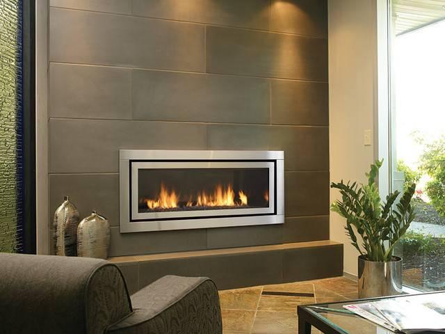 Regency Horizon Modern Gas Fireplace Living Room