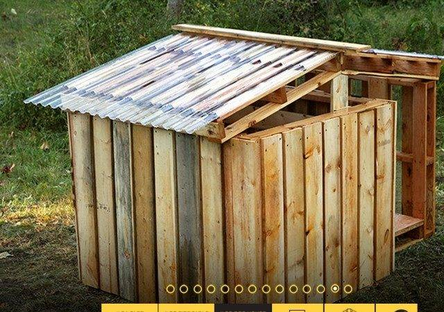 Related Diy Dog House Plans Made Pallets Pic Build Your Own