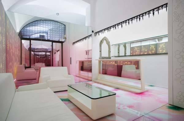 Relaxing Mixture Colours Skin Aesthetic Clinic Interior Design