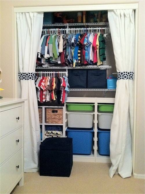 Removing Closet Doors Ideas Removed