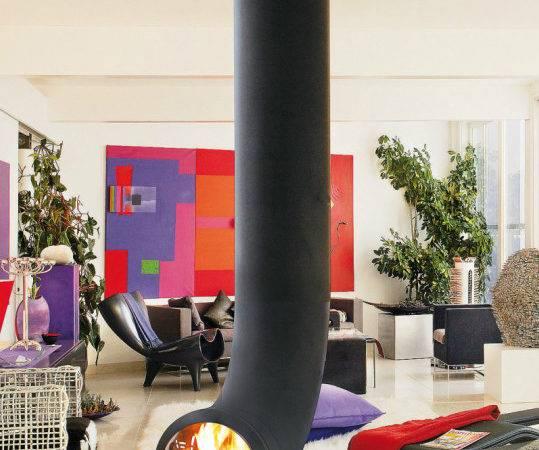 Renzofocus Tubular Fireplace