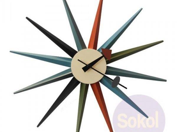 Replica George Nelson Sunburst Clock Accessories Sokol