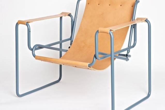 Replica Wassily Chair Found Street Refashioned Wilson