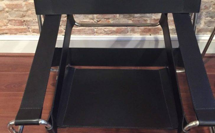 Replica Wassily Chairs Genuine Leather Like New