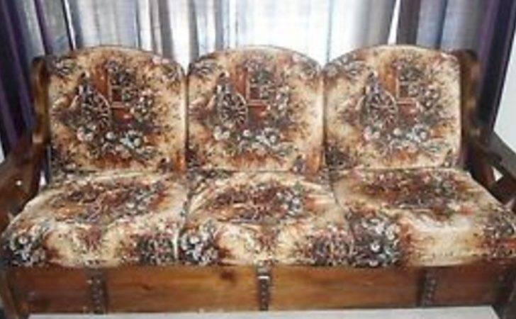 Repurpose Sofa Into Yard Patio Set