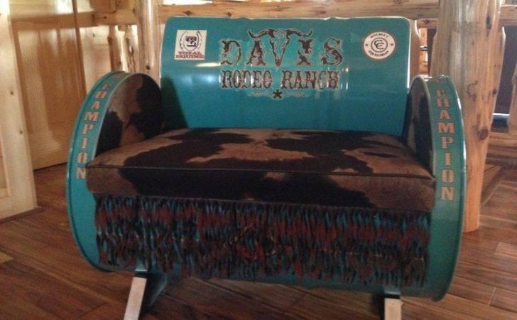 Repurposed Gallon Drums Furniture Very Cool