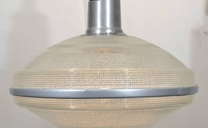 Repurposed Industrial Holophane Lighting Sale Stdibs