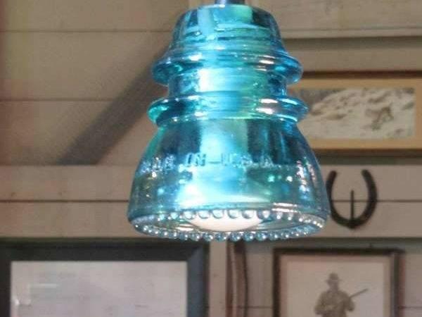 Repurposed Industrial Lighting Railroadware Insulatorlights