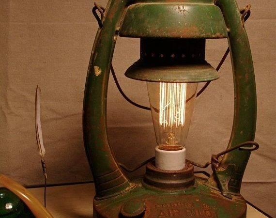 Repurposed Industrial Lighting Upcycled