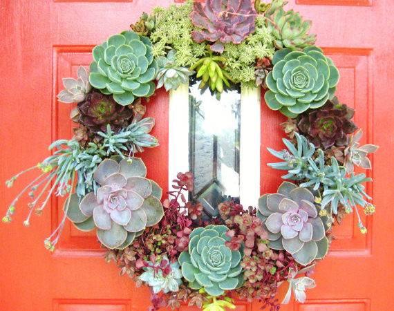 Reserved Bsstudio Succulent Living Wreath Perfect Unique