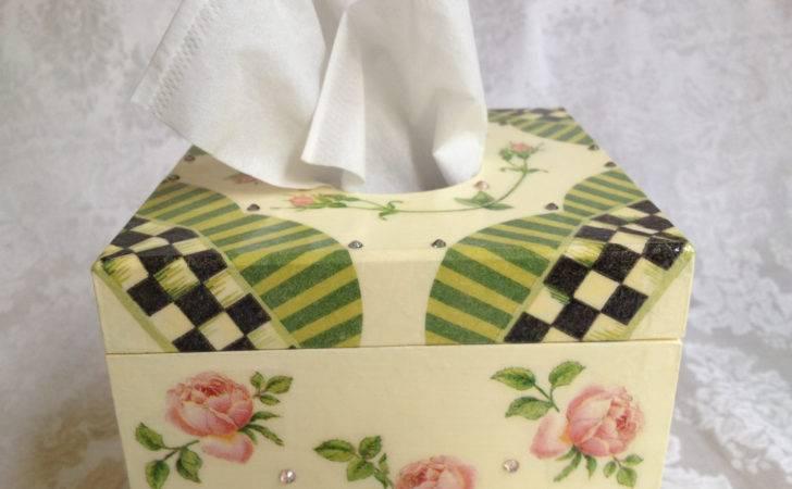 Reserved Judeth Tissue Box Holder Whimsical Style