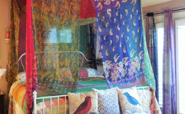 Reserved Tina Gypsy Bohemian Bed Canopy Room Tent