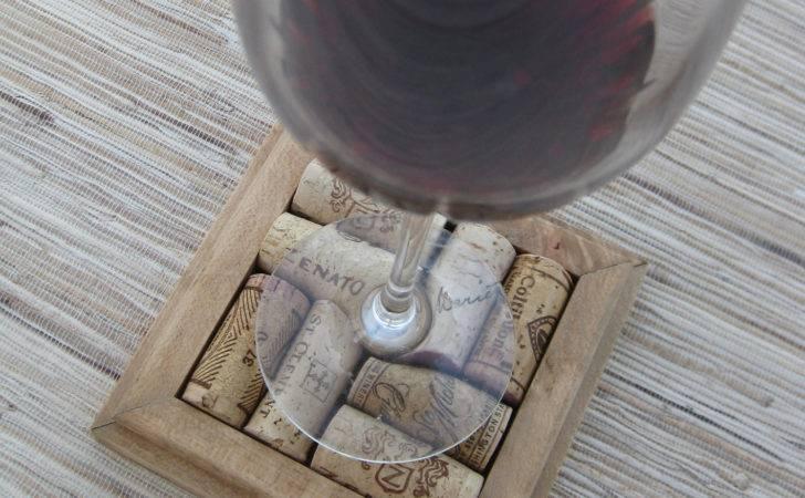 Reserved Wine Cork Coasters Diy Set Honey