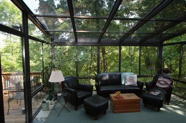 Residence Contemporary Sunroom Louis Patriot Sunrooms