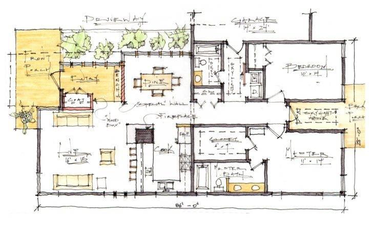 Residence Modern Take Craftsman Style Home