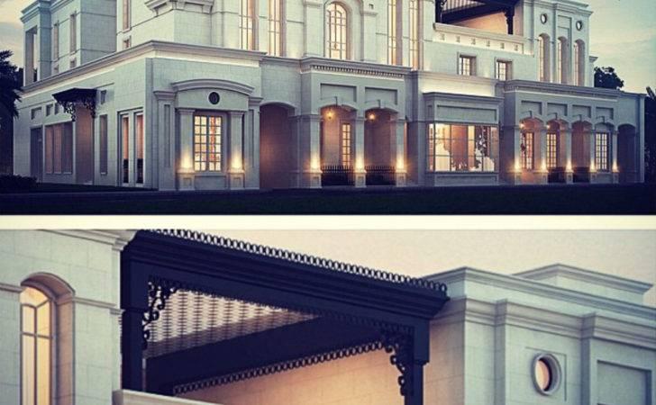 Residential Architecture Modern Classic Villa