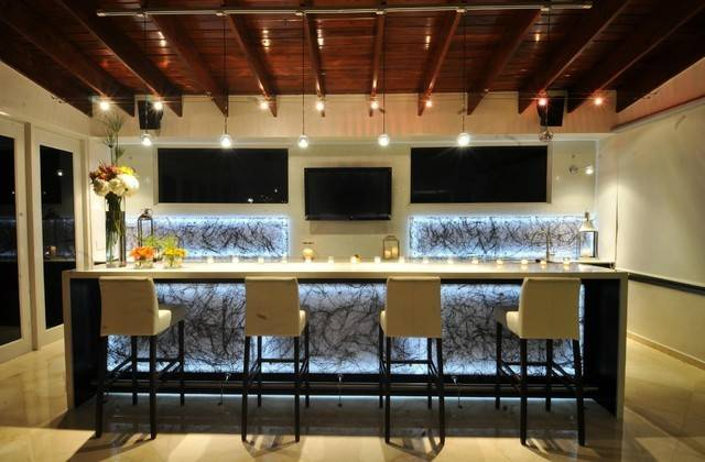 Residential Bar Contemporary Room Other Metro