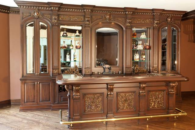 Residential Bar Traditional Home Other Kitchen