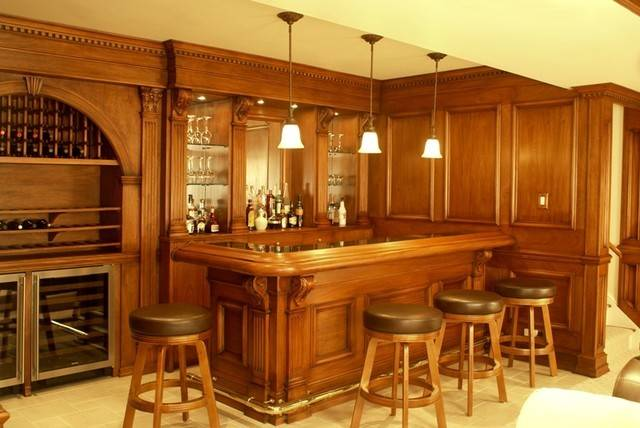 Residential Bar Traditional Home