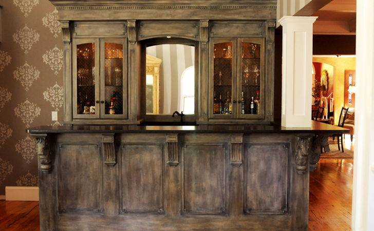 Residential Bars Fine Lines Wood