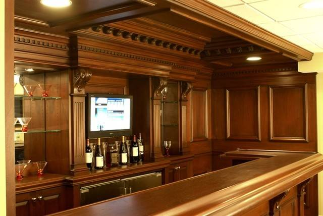 Residential Bars Traditional New York Interiors
