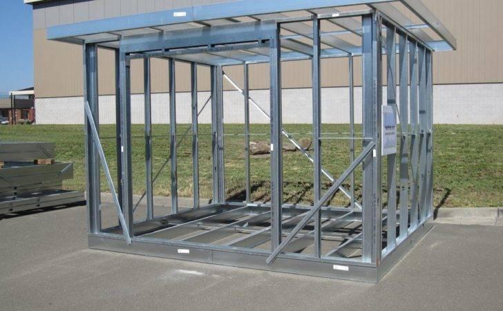 Residential Housing Steel Frame Building Metal