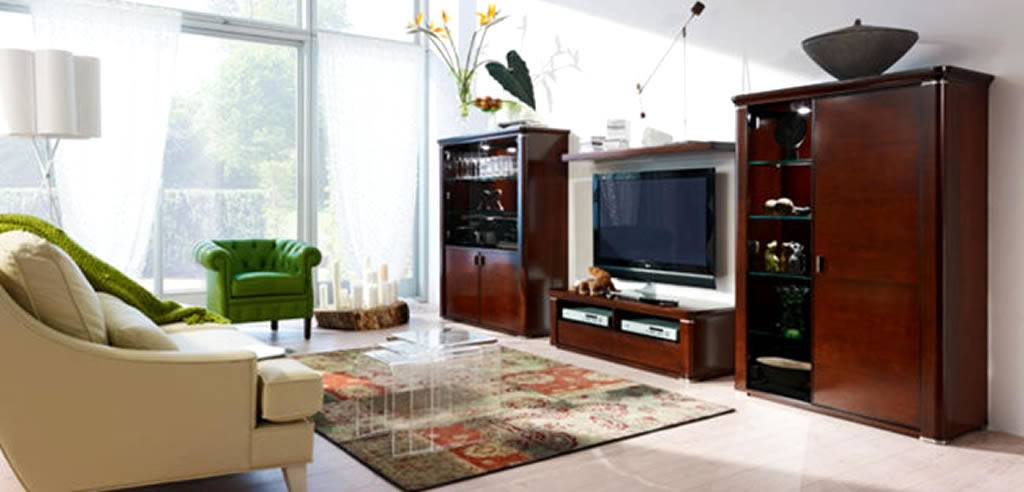 Residential Living Room Interior Design Marilyn Cabinet