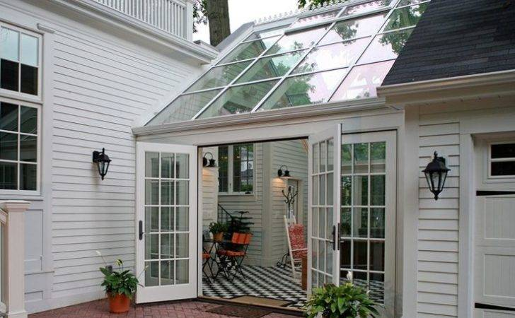 Residential Sunroom Additional Living Space Beautiful Transition