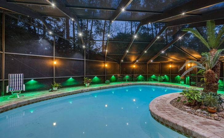 Residential Swimming Pool Enclosure Led Lighting System