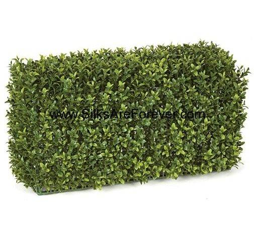 Resistant Outdoor Artificial Boxwood Topiary Hedge